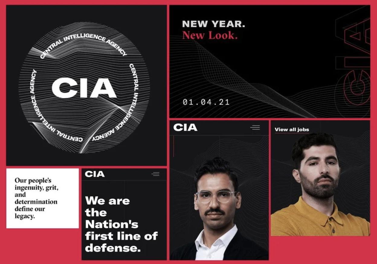 CIA landing page