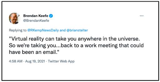 Brendan Keefe tweet
