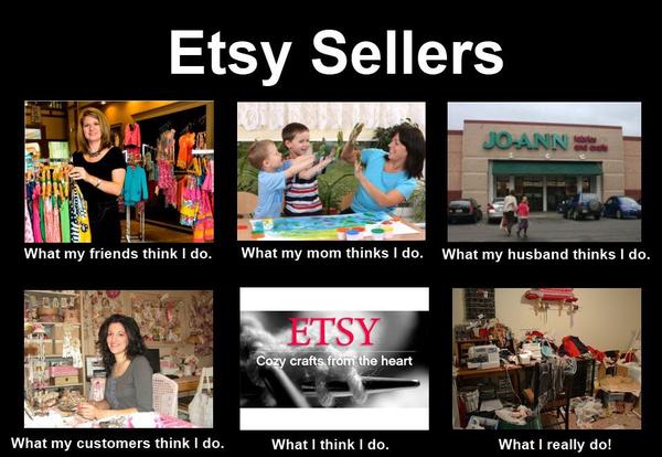 Etsy sellers meme