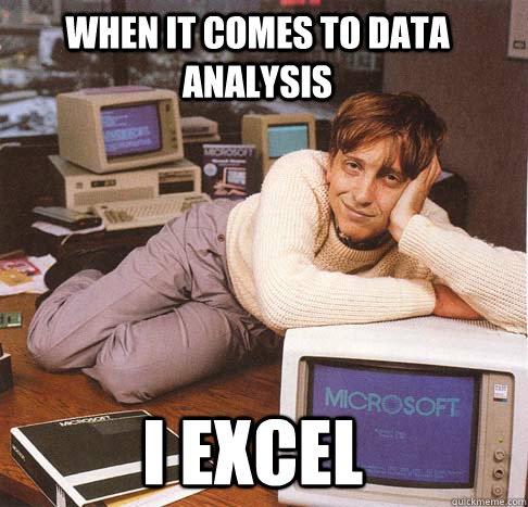 Excel meme