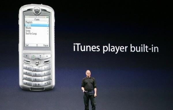 Motorola Steve Jobs Keynote