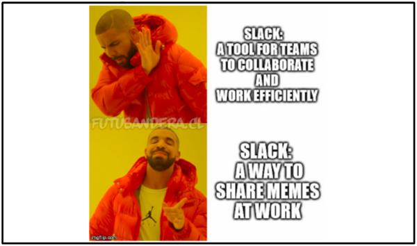 Slack meme
