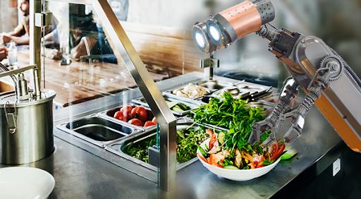 robot salad bar