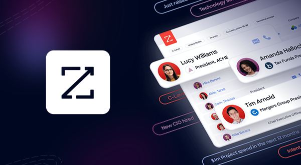 ZoomInfo logo and app