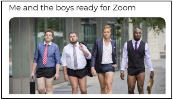 Zoom meme