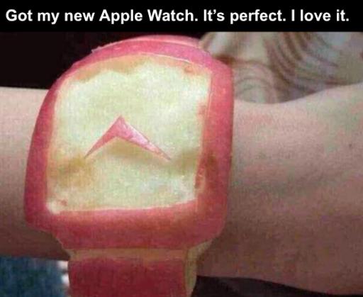 literal apple watch