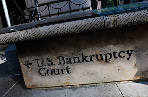 Bankruptcy Court sign