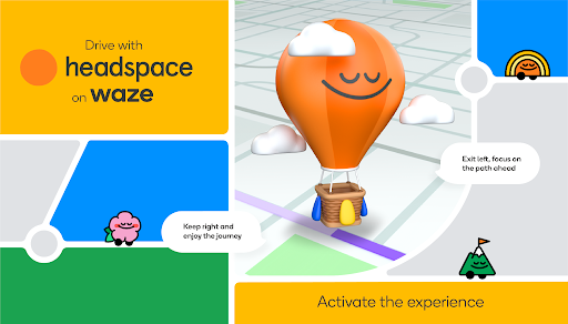 Waze and Headspace