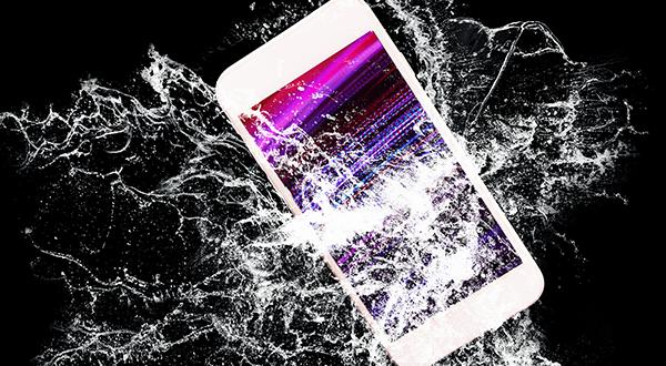iphone being broken