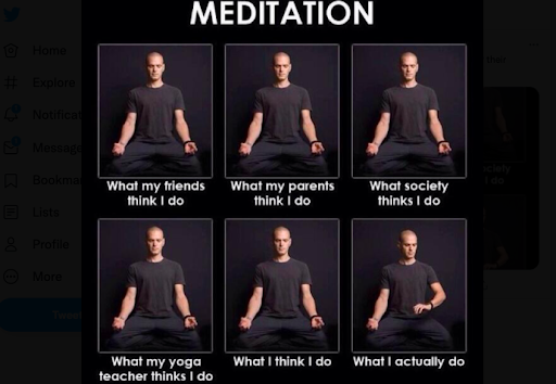 meme de meditación