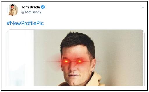 new profile pic meme