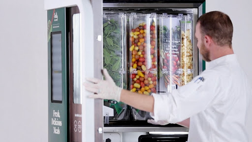 salad machine